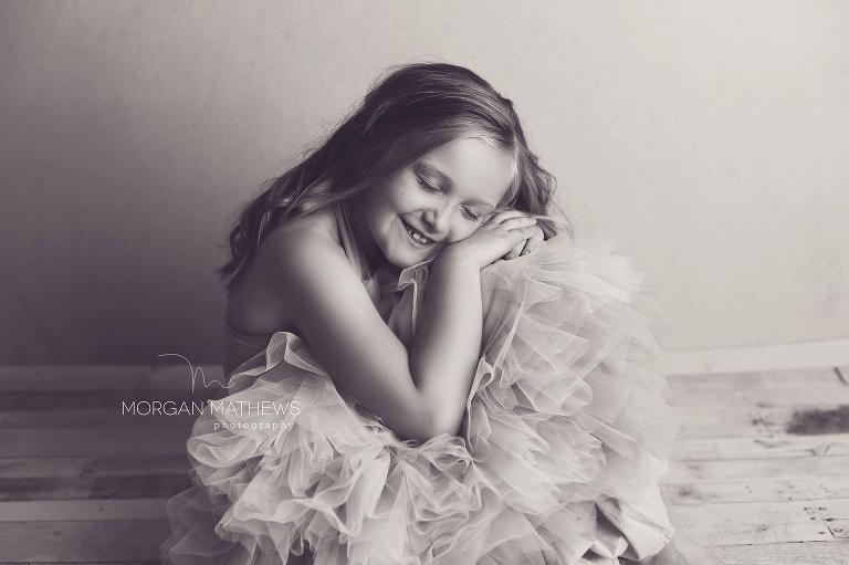 Reno Nevada Child photo in black and white