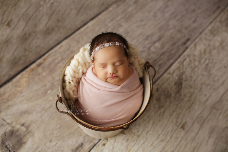 newborn pictures with props in northern Nevada