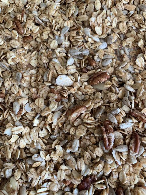 healthy and delicious granola
